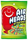 Airheads Xtremes Bites Sweetly Sour Candy Peg Bag, Rainbow Berry, Halloween Candy, Bulk, Non Melting, 3.8 Ounce (Bulk Pack of 12)