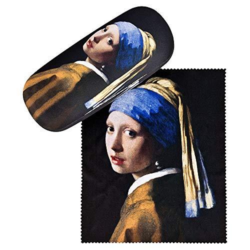 VON LILIENFELD Portaocchiali Regalo Leggero Stabile Colorato Compatto Arte Jan Vermeer La ragazza...