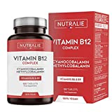 Vitamina B12 Vegana 2000mcg Cianocobalamina y Metilcobalamina | Alta Potencia Sin Aditivos |...