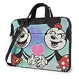 Funda para portátil de 15,6 Pulgadas Love Minnie Laptop Maletín Bandolera Bandolera