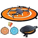 Drones Landing Pad,Recharlance Universal Waterproof D 75cm/30'' Portable Foldable Landing Pads for RC Drones Helicopter, PVB Drones, DJI Mavic Pro Phantom 2/3/4/ Pro, Antel Robotic, 3DR Solo & More