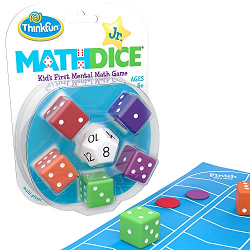 Think Fun Math Dice Junior Game for Boys and Girls Age 6 and...