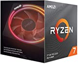 AMD Ryzen 7 3700X Upto 4.4GHz 8 Core 16 Threads AM4 Socket 36MB Cache Desktop Processor with Wraith Prism with RGB LED Thermal Solution (100000071BOX)