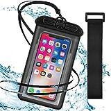 UNIQUE スマホ防水ケース 指紋認証/顔認証対応 防水ケース スマホiPhone12 Pro Max/iPhone12 P……