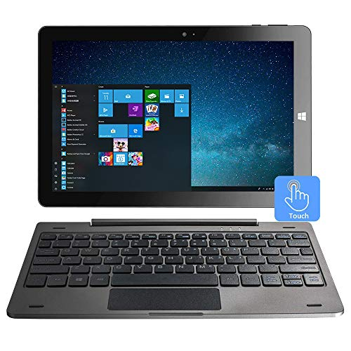 10.1 Inch Windows 10 Tablet 2-in-1 Touchscreen...