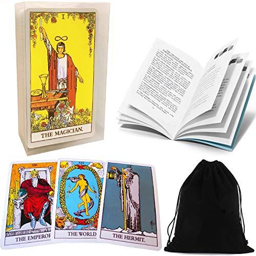 Tarot Cards Set Classic Smith Tarot Cards Deck with...