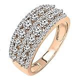 Dazzlingrock Collection 1.15 Carat (ctw) Round White Diamond Ladies Anniversary Stackable Wedding...