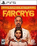 Far Cry 6 PlayStation 5 Gold Steelbook Edition (Video Game)