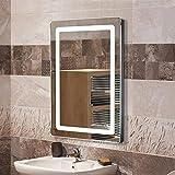 POPSPARK Miroirs cosmétiques muraux, Miroir Salle de Bain avec éclairage...