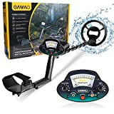OMMO Metal Detector for Adults & Kids, Waterproof Metal Detectors with High Accuracy Adjustable...