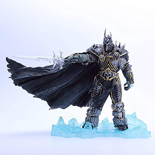 ZFF-DM World of Warcraft-Arthas Menethil Action-Figur kreativen Geschenk PVC-8.6 Zoll (Color :...