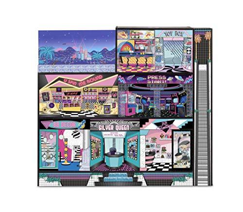 Image 1 - LOL Surprise OMG Maison de poupée en bois, + 85 Surprises, 6 pièces dont 1 chambre, 1 salle de bain, 1 piscine, 1 ascenseur, 1 cuisine, 1 armoire & + Maison 91x91cm, garçons/filles de 3 ans et +