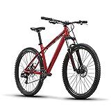 Diamondback Bicycles Hook 27.5 Wheel Mountain Bike, Red, Medium