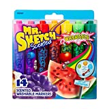 Mr. Sketch 1924061 Washable Scented Markers, Chisel Tip, Assorted...