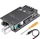 ZHITING Bluetooth Amplifier Board Module 2x50W Digital Stereo Audio Amp Board Dual Channel DC 5V-27V avec Filtre HiFi