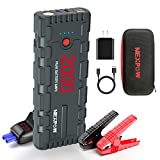 NEX POW 2000A Peak 18000mAh Car Jump Starter with USB Quick Charge 3.0 (Up to 7.0L Gas or 6.5L Diesel Engine), 12V Portable Battery Starter, Battery Booster with Built-in LED Light