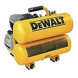 DEWALT Air Compressor, Twin Stack, 4 Gallon, 125 PSI Max (D55153)