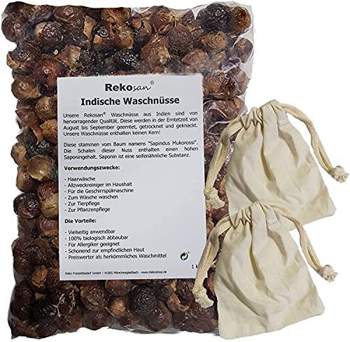 Rekosan® Indische Waschnüsse 1 kg plus 2...