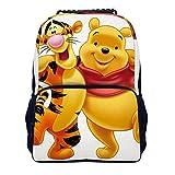 Winnie The Pooh Hug Tigger Mochila escolar, bolsa de viaje, para hombres, mujeres, adolescentes, colegio, 16 pulgadas