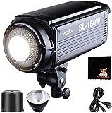 GODOX SL-150W 5600K 150W Alta Potenza LED Luce Video Controllo Wireless con Attacco Bowens per Registrazione Video Foto Studio Fotografico
