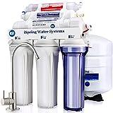 iSpring RCC7AK, NSF Certified, 6-Stage Reverse Osmosis System Under Sink, Alkaline Remineralization pH+ RO Water Filter System, 75 GPD Superb Taste Drinking Water Filter