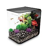 biOrb FLOW 30 Aquarium with LED Light - 8 gallon, black (45919)