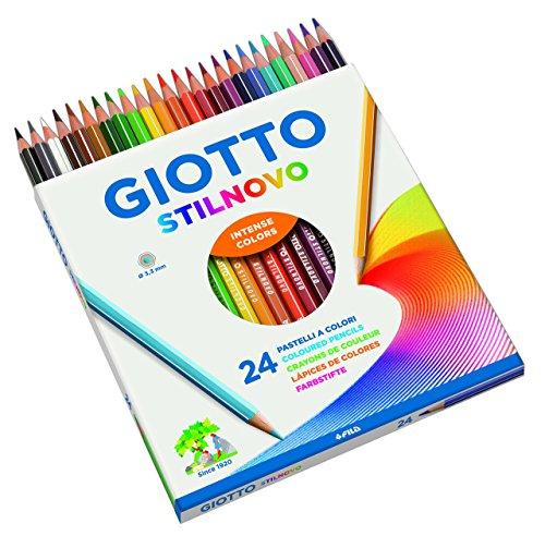Giotto Stilnovo pastelli colorati in astuccio 24 colori