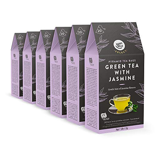 Marca Amazon - Happy Belly Select Bolsitas de té verde con
