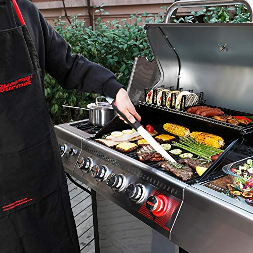 Product Image 4: Royal Gourmet GA5401T 5-Burner BBQ Liquid Propane Gas Grill with Sear Burner and Side Burner, <a href=