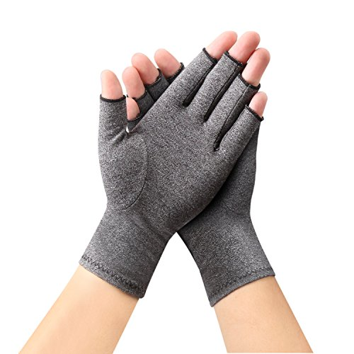 Arthritis Gloves by Sanbo Compression Gloves for Osteoarthritis Hand Gloves for Men & Women (Medium)