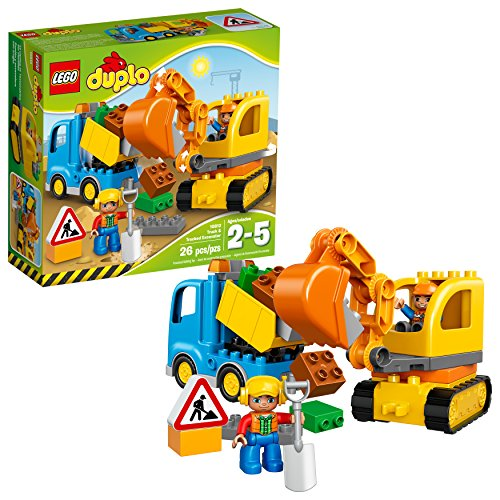 Lego Duplo Truck and Excavator