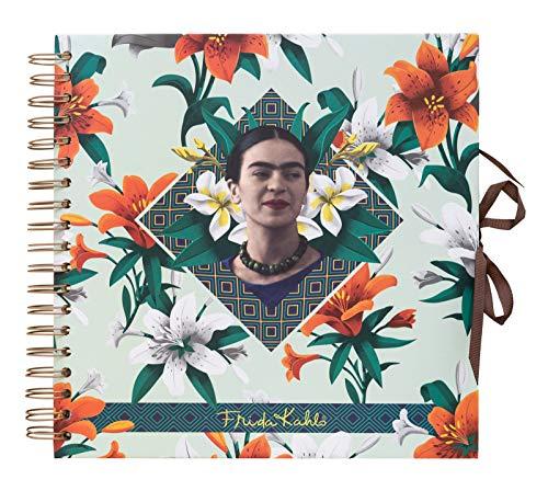 Grupo Erik Editores Foto Frida Kahlo 26x26 cm Erik álbum de Fotos Scrapbook y Resistente, 26 x 26 cm, 40 páginas
