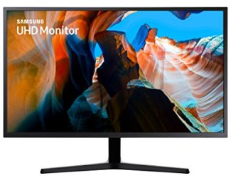 Samsung 32-Inch UJ59 UHD 4K Gaming Monitor (LU32J590UQNXZA) – 60Hz Refresh, Widescreen Computer Monitor, 3840 x 2160p Resolution, 4ms Response, FreeSync, HDMI, Wall Mount