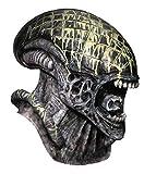 Rubie's Men's Aliens Vs. Predator: Requiem Deluxe Latex Alien Mask, As Shown, One Size