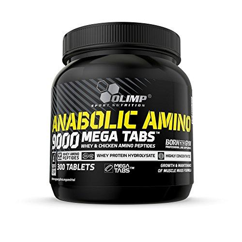 Olimp Anabolic Amino 9000 Mega Tabs , 300 Tabletten