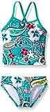 Kanu Surf Girls' Toddler Melanie Beach Sport 2-Pc Banded Tankini Swimsuit, Summer Dream Green Paisley, 3T