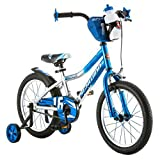 Schwinn 16' Cosmo Boys' Bike, Blue/Gray