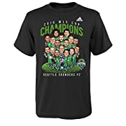 Officially licensed by MLS Team caricature graphic at front Specially designed for MLS cup Champs Country of origin: UNITED STATES