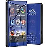 Timoom M7 Lecteur MP3 Bluetooth 5.0 Haute Résolution écran Tactile Complet, 4...