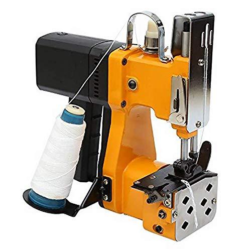 HUKOER Macchina per cucire portatile Macchina per la sigillatura elettrica Tessuto per sigillare cucito per borse di tela, borse, borse e sacchetti di carta