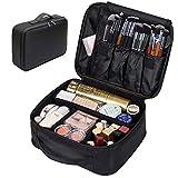 Portable Makeup Bag, FLYMEI Make Up Bag Large Capacity Train Case, Professional Makeup Artist Case,...