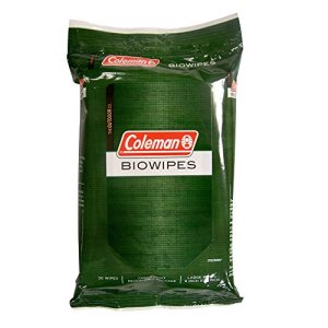 Coleman Biowipes, 30 Count 2