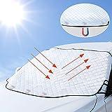Tevlaphee Pare Soleil Voiture Pare Brise Avant, Protection Avant Parfaite Contre Les Rayons UV et la...