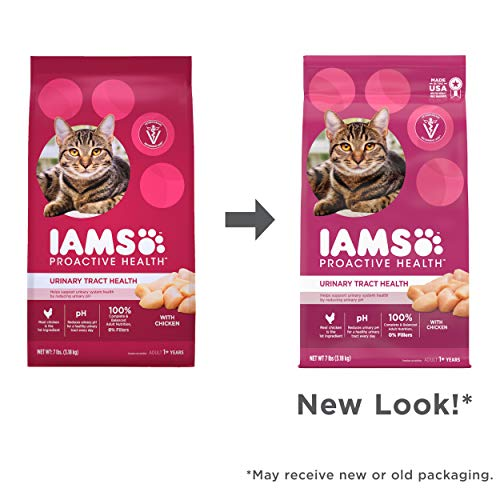 Product Image 11: IAMS PROACTIVE HEALTH Adult Urinary Tract Health Dry Cat Food with Chicken Cat Kibble, 7 lb. Bag