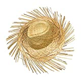 Schramm® Chapeau de Paille Hawaii avec Franges Chapeau de Paille Hawaii Party