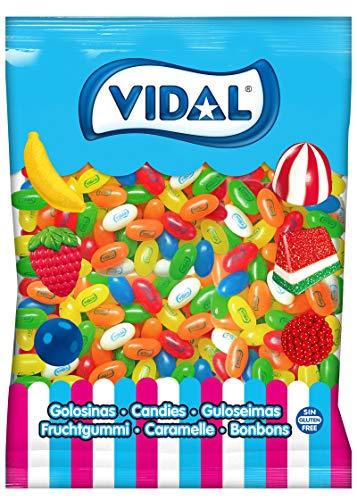 Vidal Glas Frutas Golosina , Mezcla de Frutas, 2000 Gramos