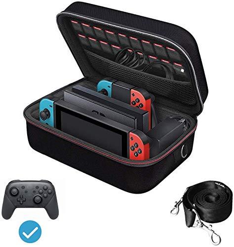 Nintendo Switch ケース iVoler ニンテンドースイッチ 超大容量 収納 バッグ 全面保護 便利 まるごとバック...