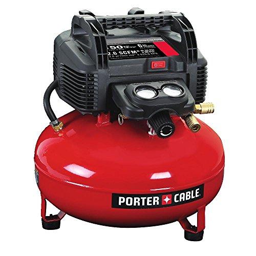 PORTER-CABLE C2002 Compresor de aire tipo Pancake, sin aceite UMC