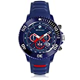 Waterproof : 10 ATM Size : Large (44 mm) Content : Watch, presentation box, instructions Collection : BMW Motorsport (sili)