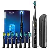 Brosse à dents électrique avec 5 modes optionnels chargés 4 heures au moins pour 30 jours...
